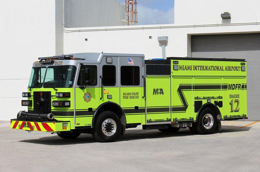 Miami Dade County Engine 12 in 2020 Miami dade, Dade