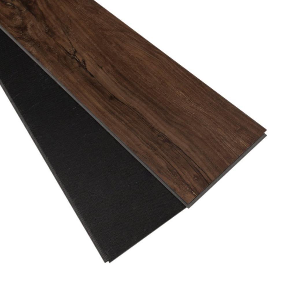 Casa moderna luxury vinyl flooring carpet review for Casa moderna black walnut luxury vinyl plank