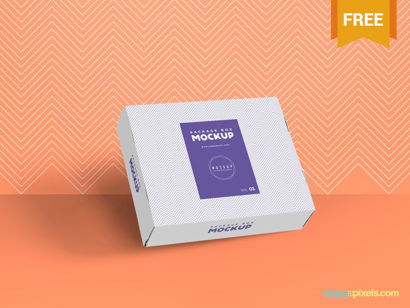 Download Free And Elegant Box Packaging Mockup Packaging Mockup Mockup Free Mockup
