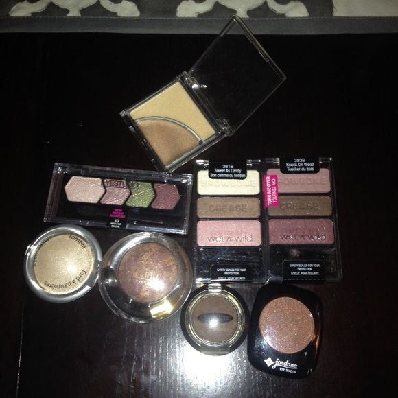 Brand new makeup various brands. Various makeup brands. Unopened containers. Makeup Eyeshadow