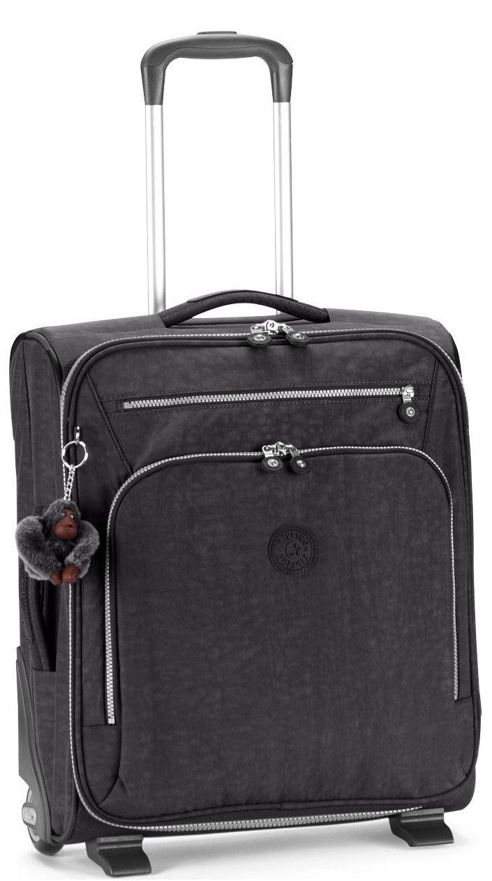 43d663aeb78 Luggage Kipling Basic K15323 Youri 50 - Small Cabin Trolley Black ...