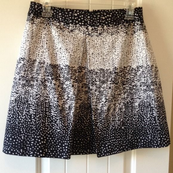 Black And White Skirt Cute Pattern New Condition Valerie