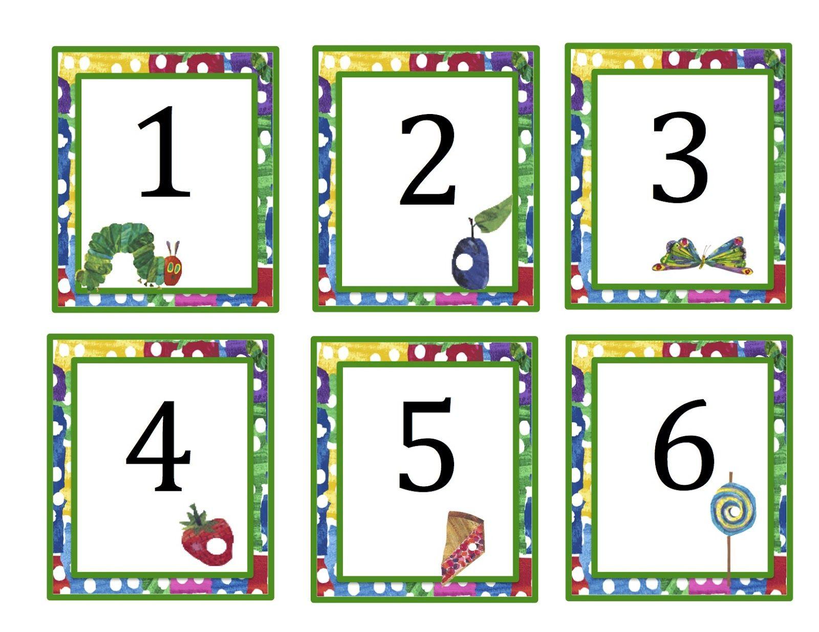 Hungry Caterpillar Preschool Printables
