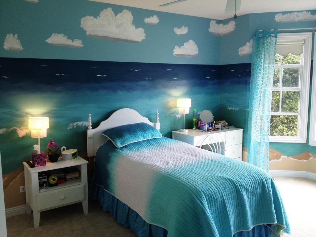 25 Ocean Themed Bedroom Ideas How To Design An Beach Bedroom Ocean Themed Bedroom Bedroom Themes Space Themed Bedroom