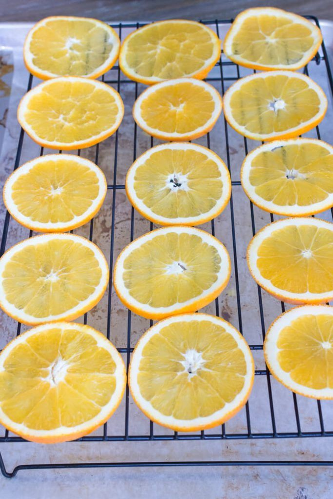 How To Dry Orange Slices In The Oven Dried orange slices