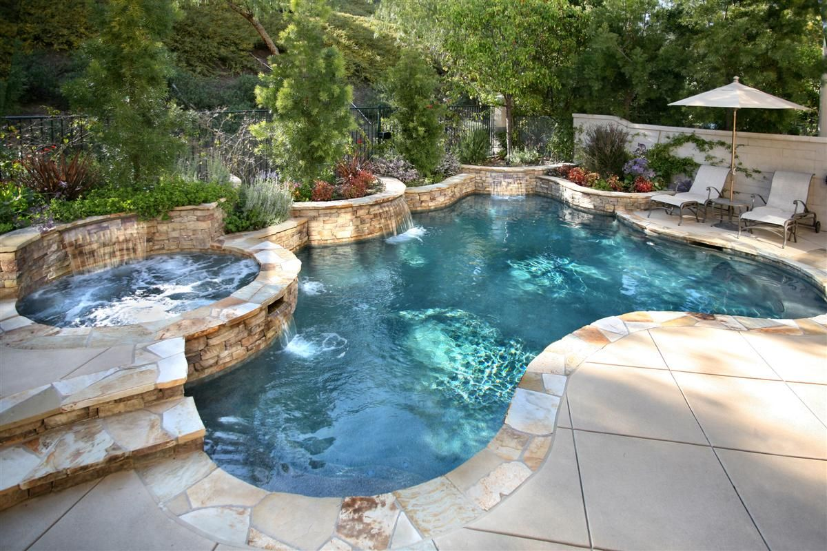 Nice Pool Backyard Pool Landscaping Backyard Pool Designs Pool Patio