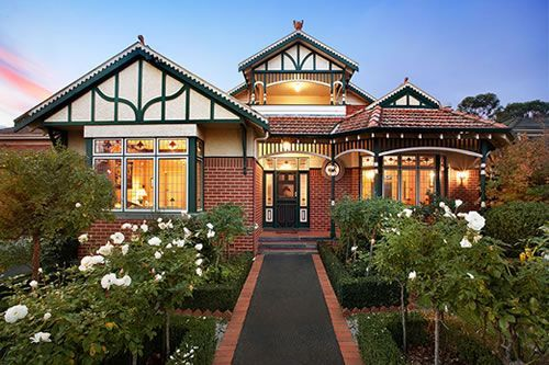 Australian Colonial Style House Garden Google Search