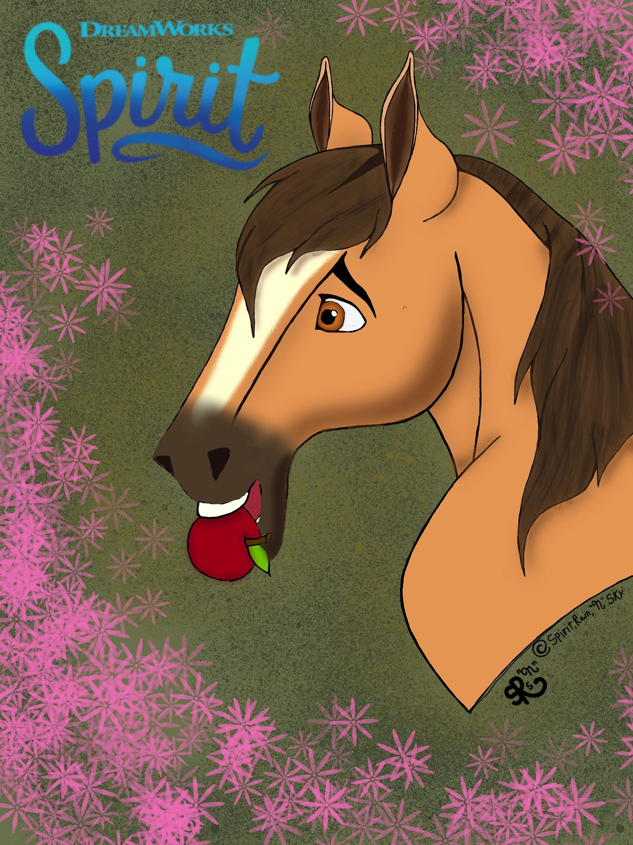 ShowYourSpirit SpiritRidingFree This Is My Submission For The Spirit Riding Free Star Stable