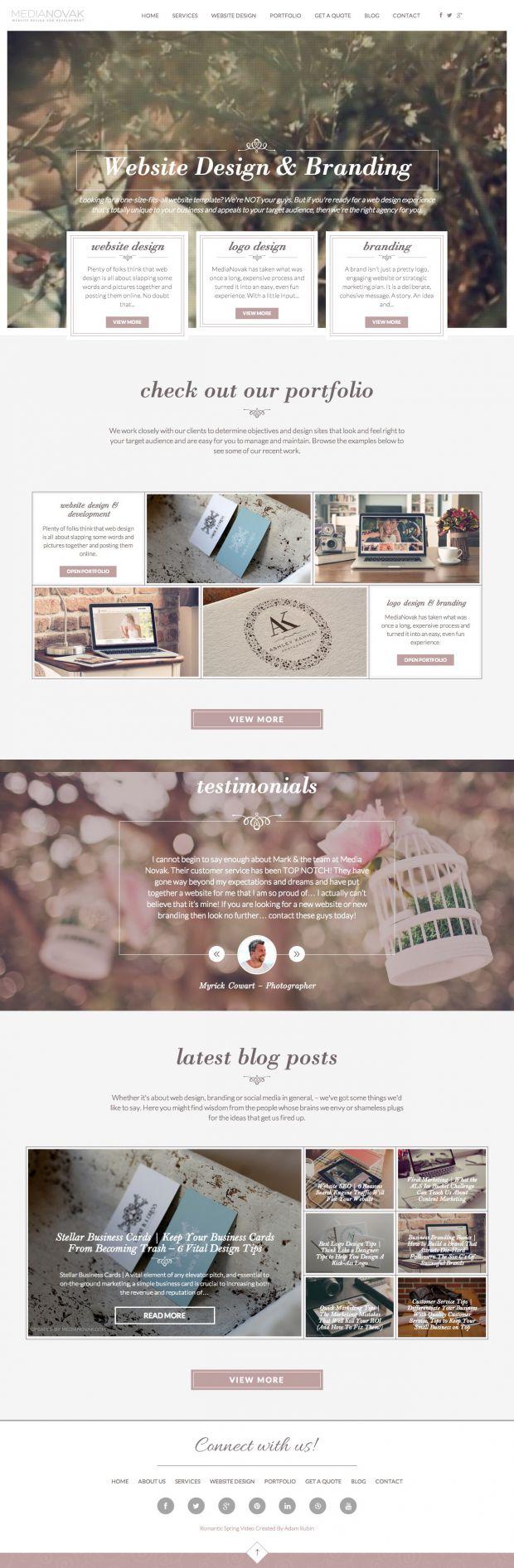 MediaNovak - Photography Websites and Logo Design - www.niceoneilike.com