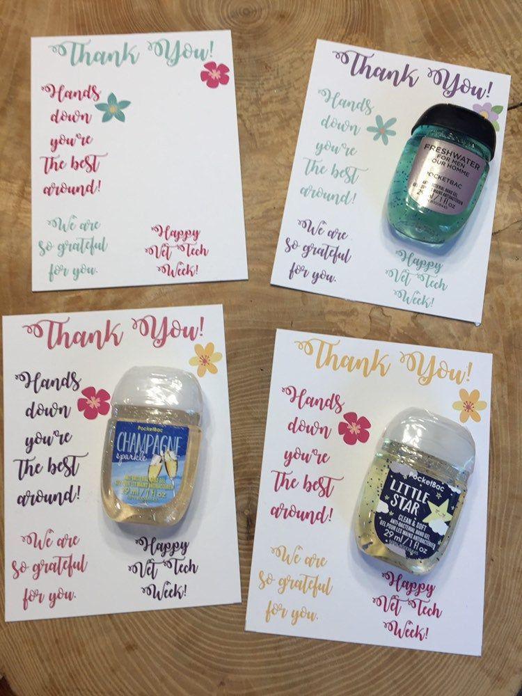 Hand Sanitizer Teacher Appreciation Gift Tag Printable Teacher