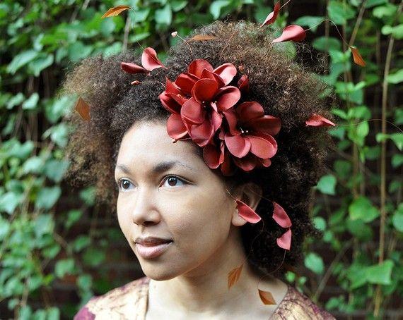 Natural hair accessories