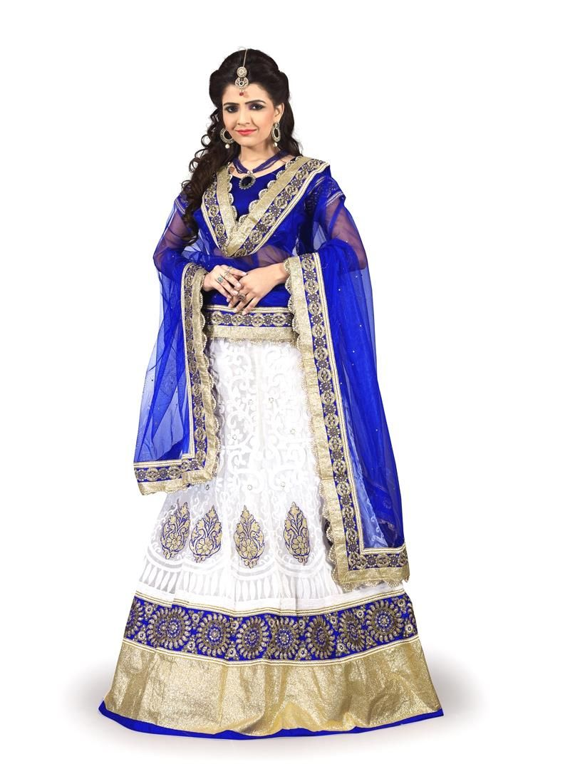 Delectable net a line lehenga choli purity in white pinterest