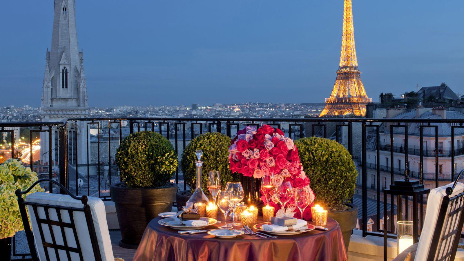 Paris Romantic Hotel Package at Four Seasons Hotel George V, Paris