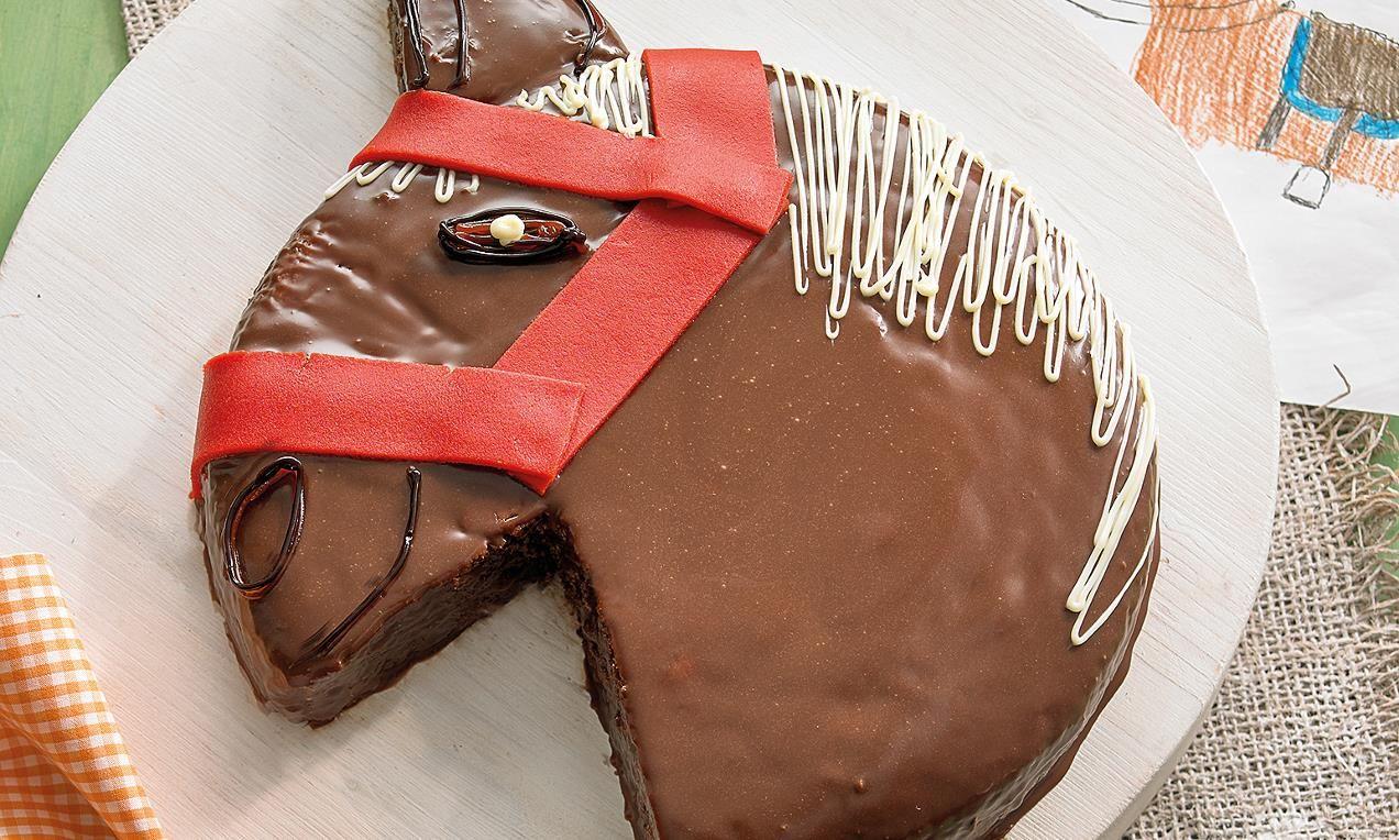 Susser Ponykopf Kuchen Rezept Kindergeburtstag Kuchen Kuchen