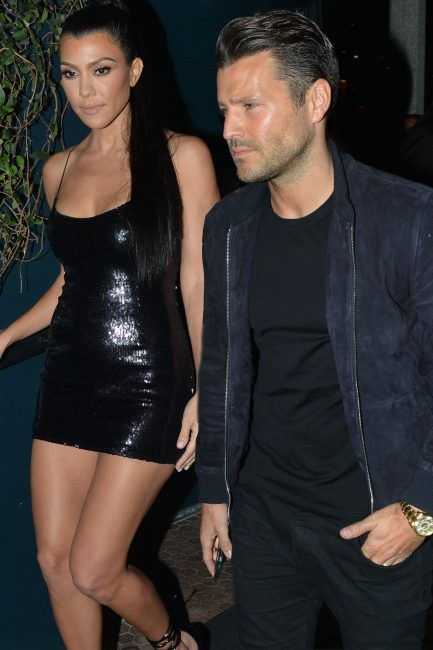 8c19c158683 TOWIE star Mark Wright parties with Kourtney Kardashian at launch of  PrettyLittleThing clothing range and sisters Jess and Natalya tag along