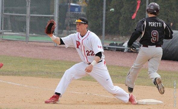 Rpi Senior Chuck Erickson Named Performer Of The Week Rpi Baseball Is On A 10 Game Winning Streak Baseball Softball Athlete Student Athlete