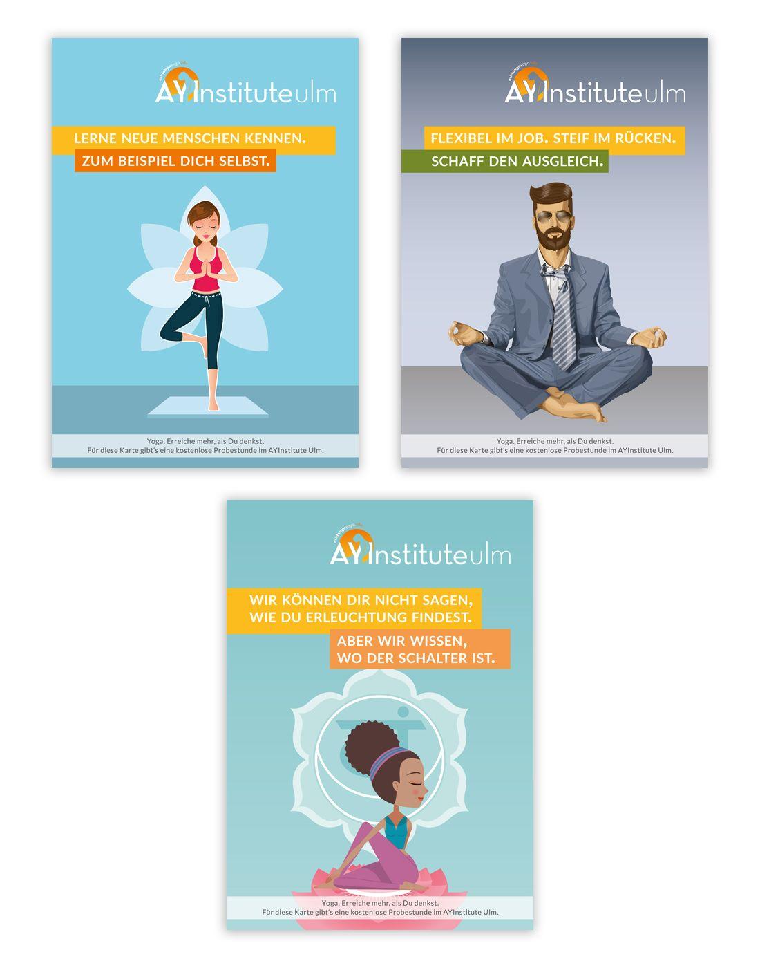 Ayinstitute Marketing Kampagne Konzeption Grafik Design Web Design