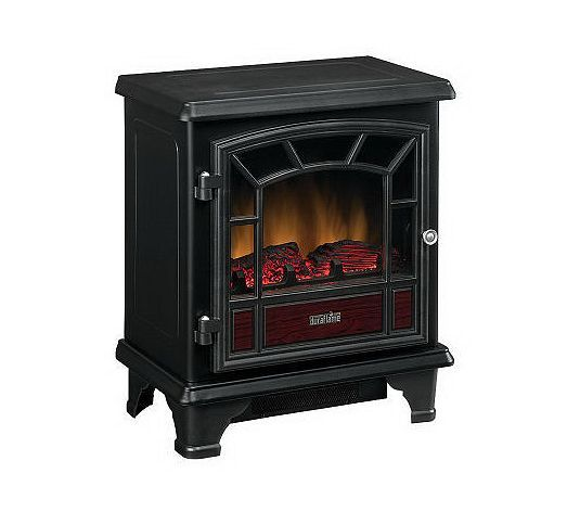 Great Heater With Beautiful Faux Fire Electric Fireplace Heater Fireplace Heater Portable Electric Fireplace