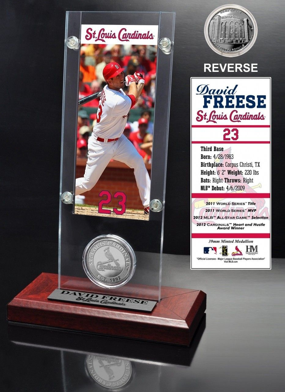 AAA Sports Memorabilia LLC St. Louis Cardinals David