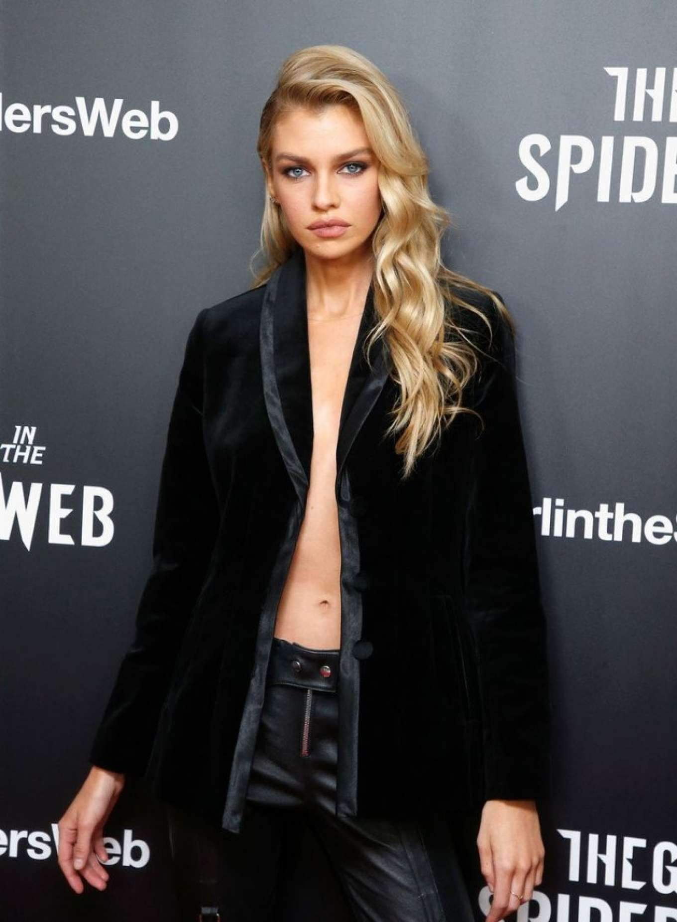 Stella Maxwell The Girl In The Spider S Web Screening In New