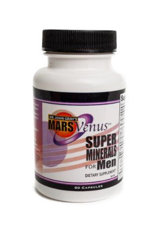 John Gray's Mars Venus Super Minerals for Men >>> You can find out more details at the link of the image.