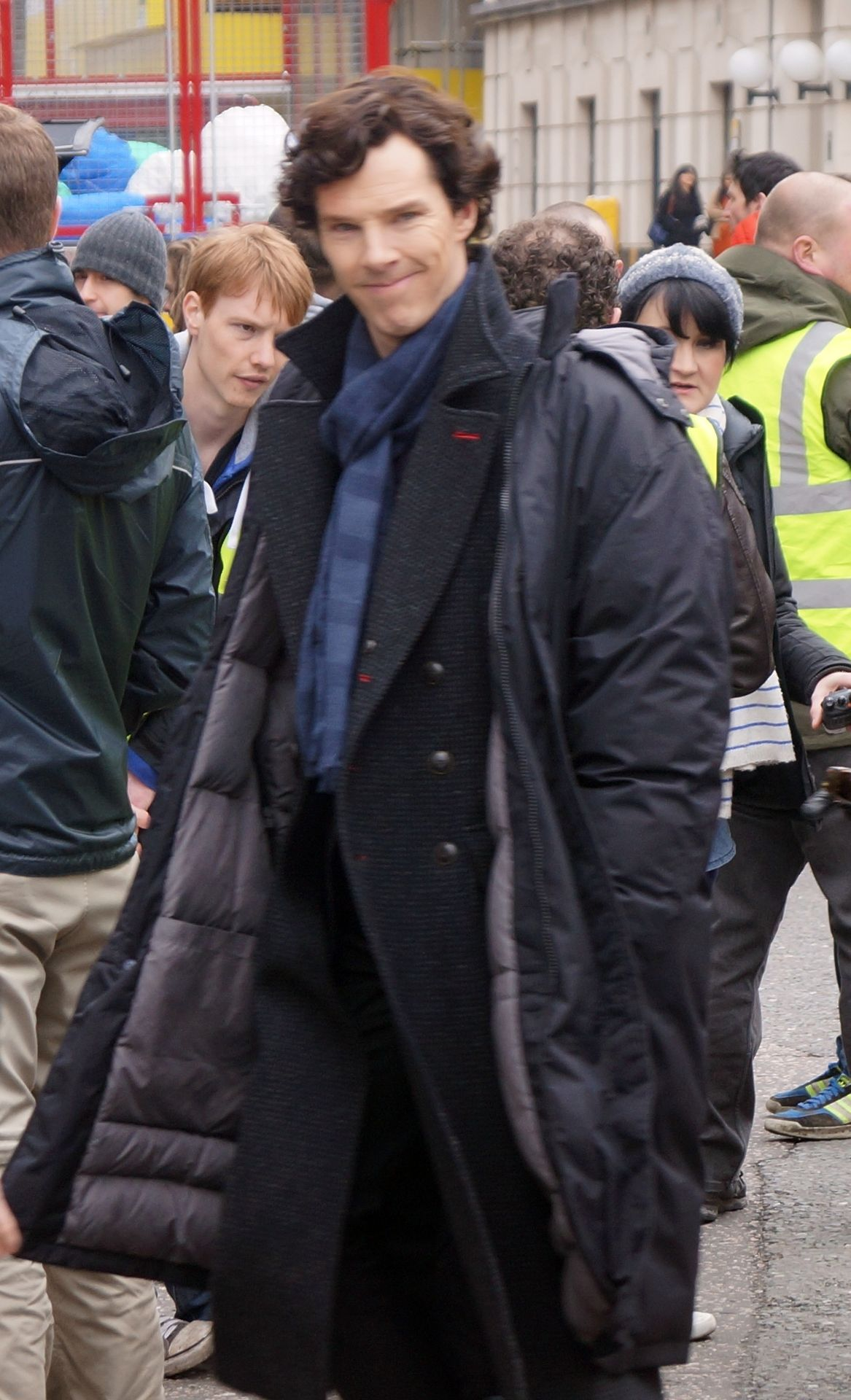 #setlock {The least spoilery photos from yesterday :)}