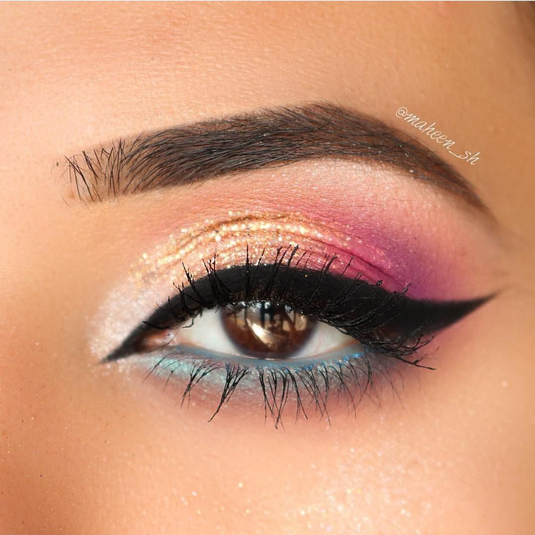 57 Gorgeous Eye Makeup Looks For Day And Evening - beautiful eye makeup ideas eyeshadow #eyemakeup #makeup #glammakeup