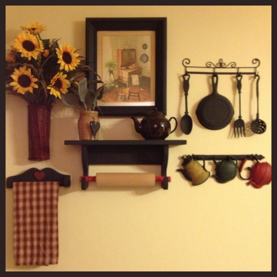 My country kitchen wall color is called butter it\'s very pale in ...