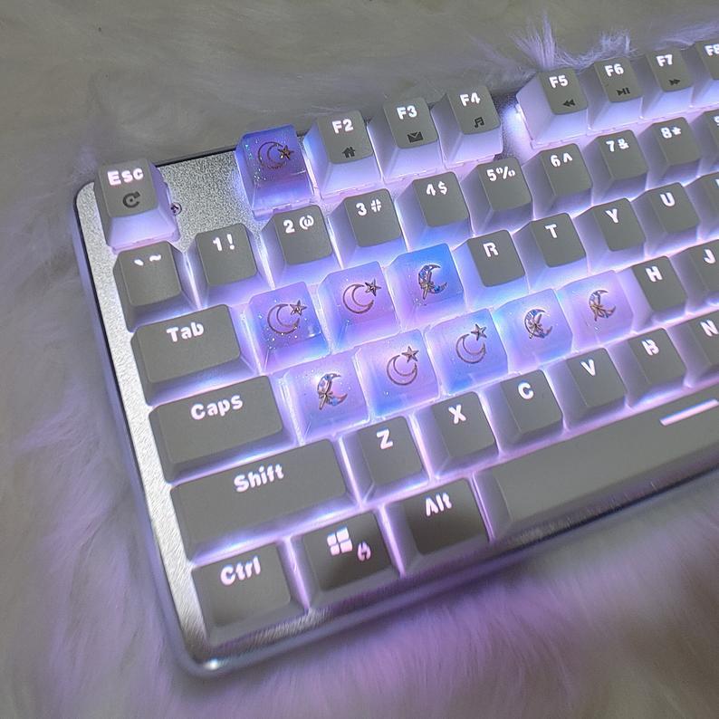 Dream like a unicorn keycap