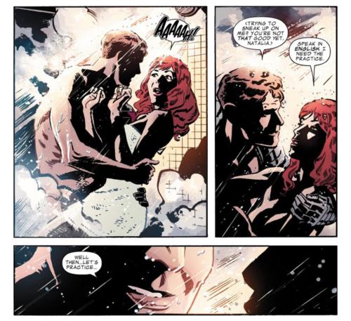 Bucky and Natasha best comic couple