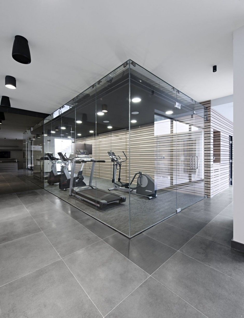 West london house shh architects gym arquitect brain home