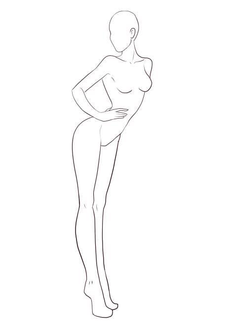 Free Fashion Templates Croquis I Draw Fashion Fashion Figure Drawing Fashion Illustration Template Fashion Templates