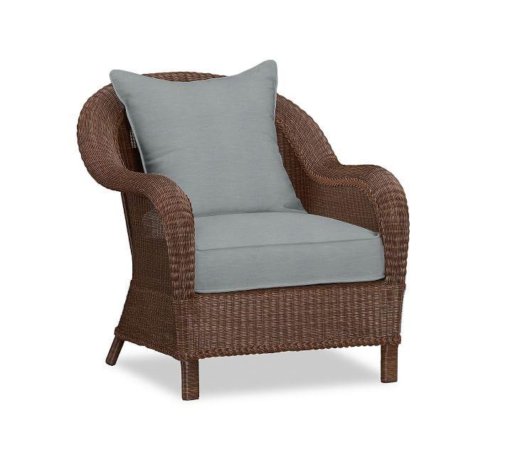 Sunbrella Outdoor Furniture, Wicker Chair Cushion Slipcovers