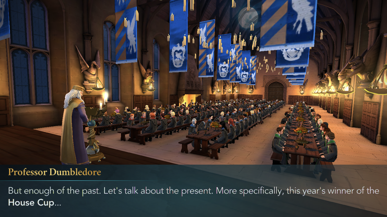 Hogwarts Mystery Ravenclaw Wins The House Cup For Year 3 Hogwarts Mystery Hogwarts House