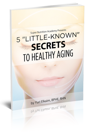 FREE eBOOK- 5 Little Known Secrets to Healthy Aging. Includes recipes!