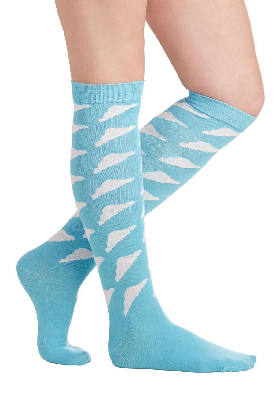 Sky Steppin' Socks
