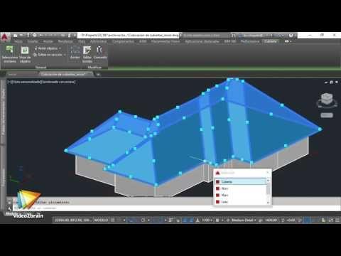 tutorial autocad architecture colocaci n de cubiertas y losas rh pinterest ca AutoCAD Architecture 2013 AutoCAD Architecture 2013