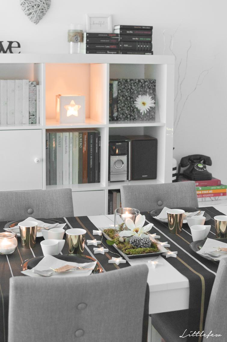 wohnzimmer handwerksmessen winter weihnachten html ecktisch tischdekorationen