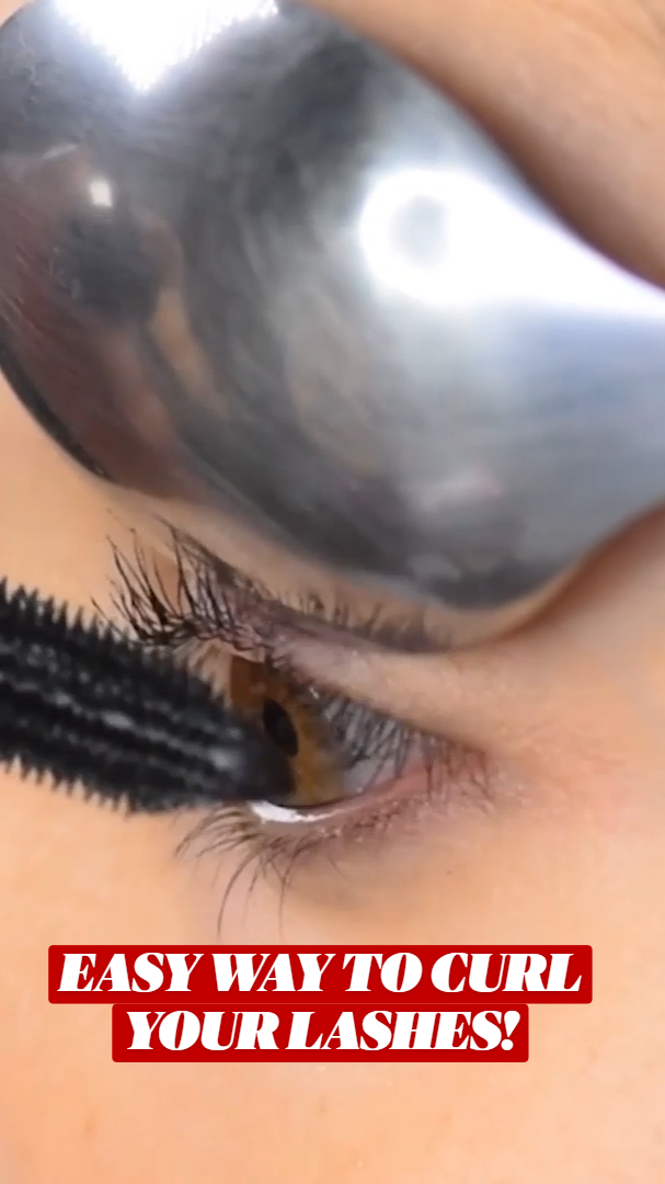 EASY WAY TO CURL YOUR LASHES!