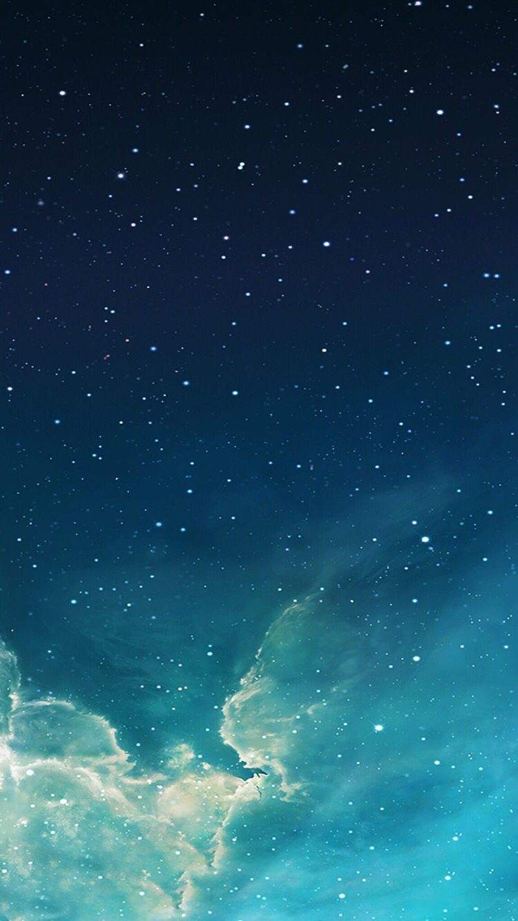 Download The Default High Quality Wallpapers Of Ios Blue Galaxy Wallpaper Night Sky Wallpaper Iphone 6 Plus Wallpaper