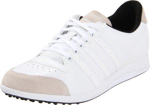 adidas Womens Adicross Golf ShoeWhiteWhiteBlack9 M US >>> Details ...