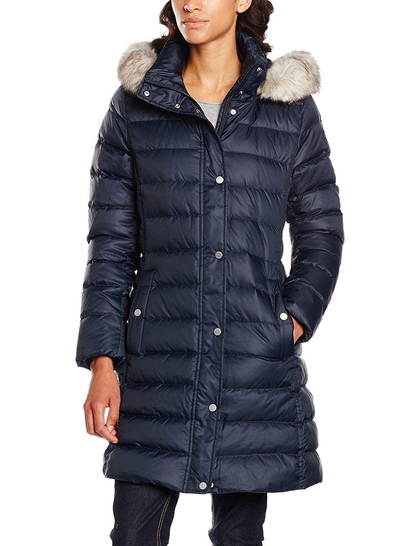 4de850e2d9237f Tommy Hilfiger New Tyra Down Coat, Manteau Femme: Amazon.fr: Vêtements et  accessoires