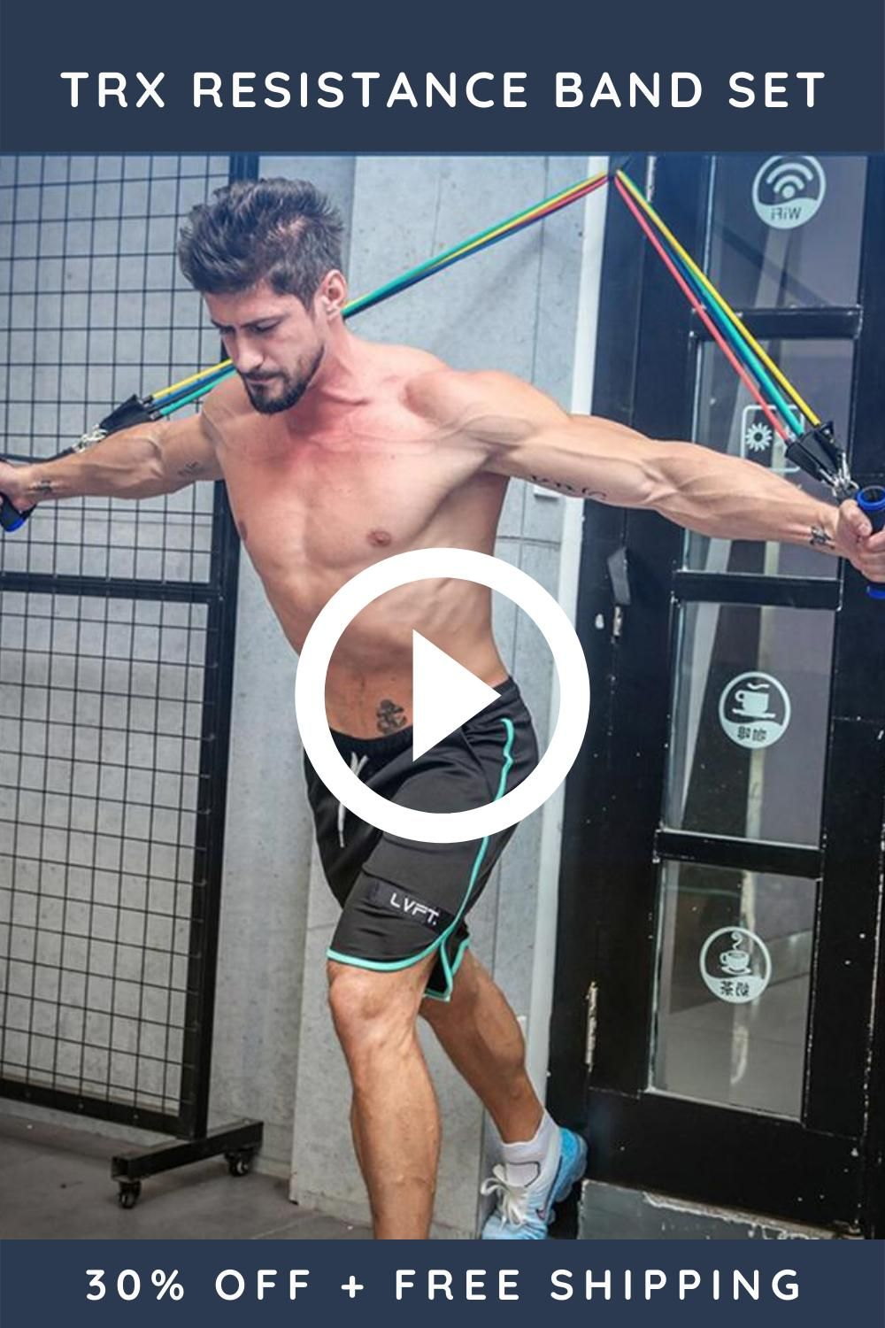 Empower your training for faster and more effective results with Resistance Band Set.