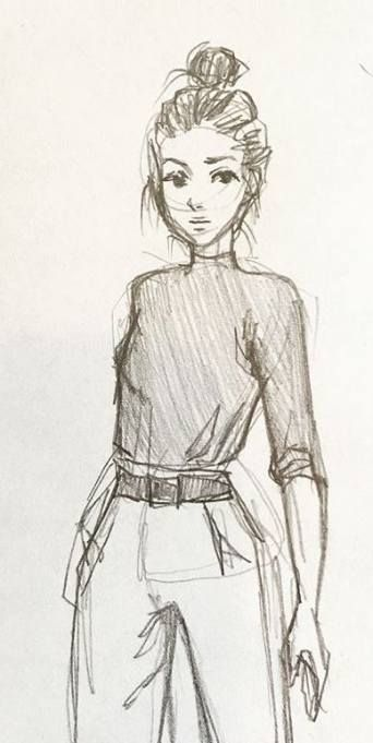 Gambar Orang Menggambar : gambar, orang, menggambar, Pencil, Drawing, Character, Design, References, Super, Ideas, Menggambar, Orang,, Sketsa,