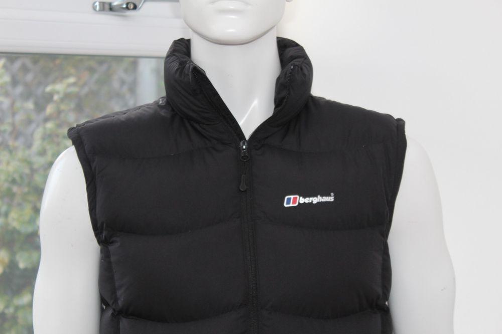 buy online utterly stylish sale uk Berghaus Ladies Womens black Puffer body warmer L Duck down ...