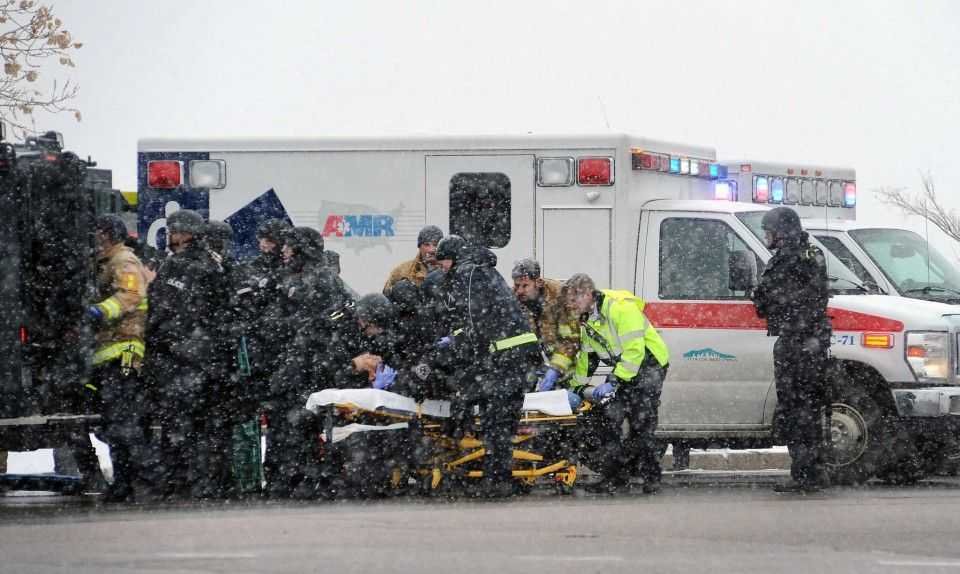 Did the Republican party establish the Planned Parenthood shooting with its speeches?