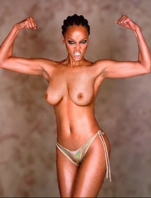 Celebrity poses nude