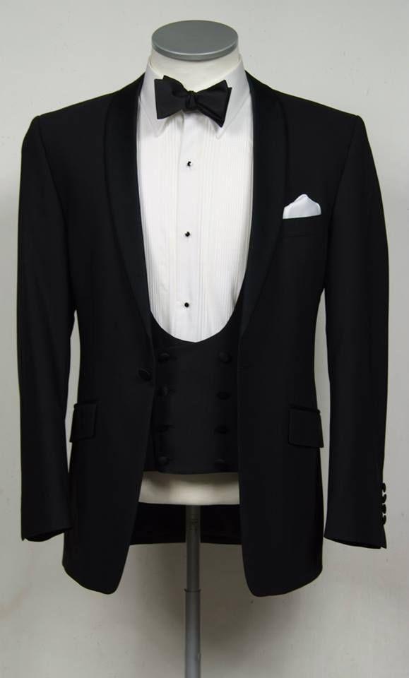 black slim fit dinner suit / tuxedo www.anthonyformalwear.co.uk ...