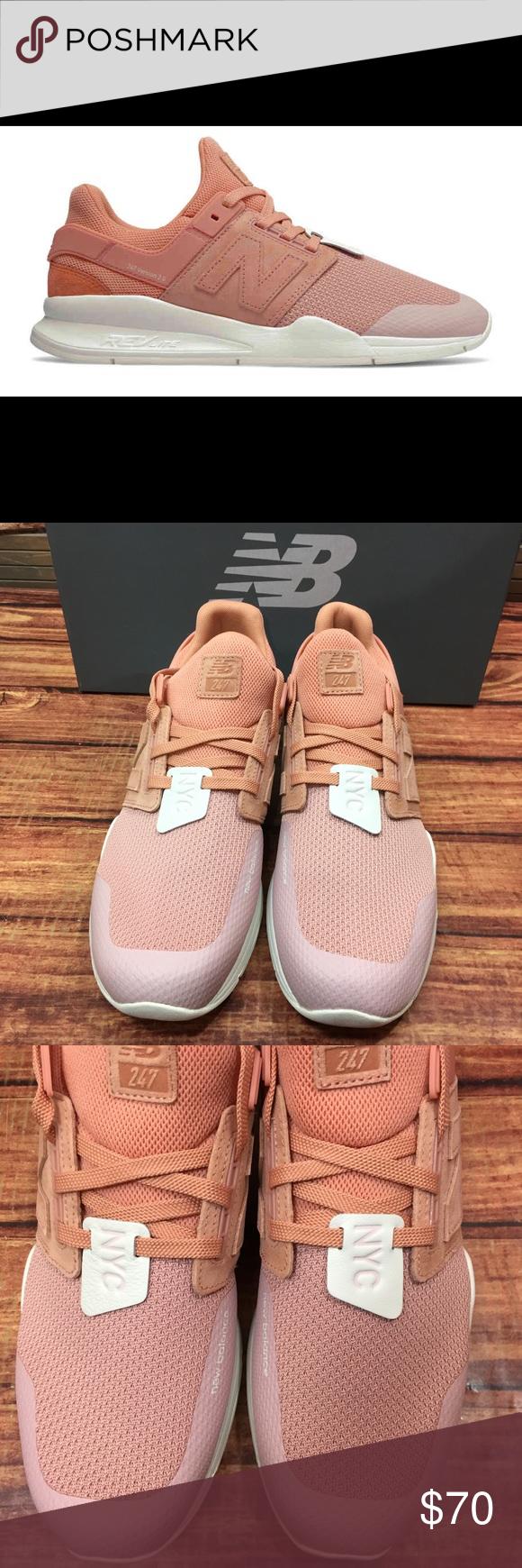 Empleado Hasta origen  New Balance 247 Time Zone Peachskin/Mellow Rose   New balance pink, New  balance shoes, New balance