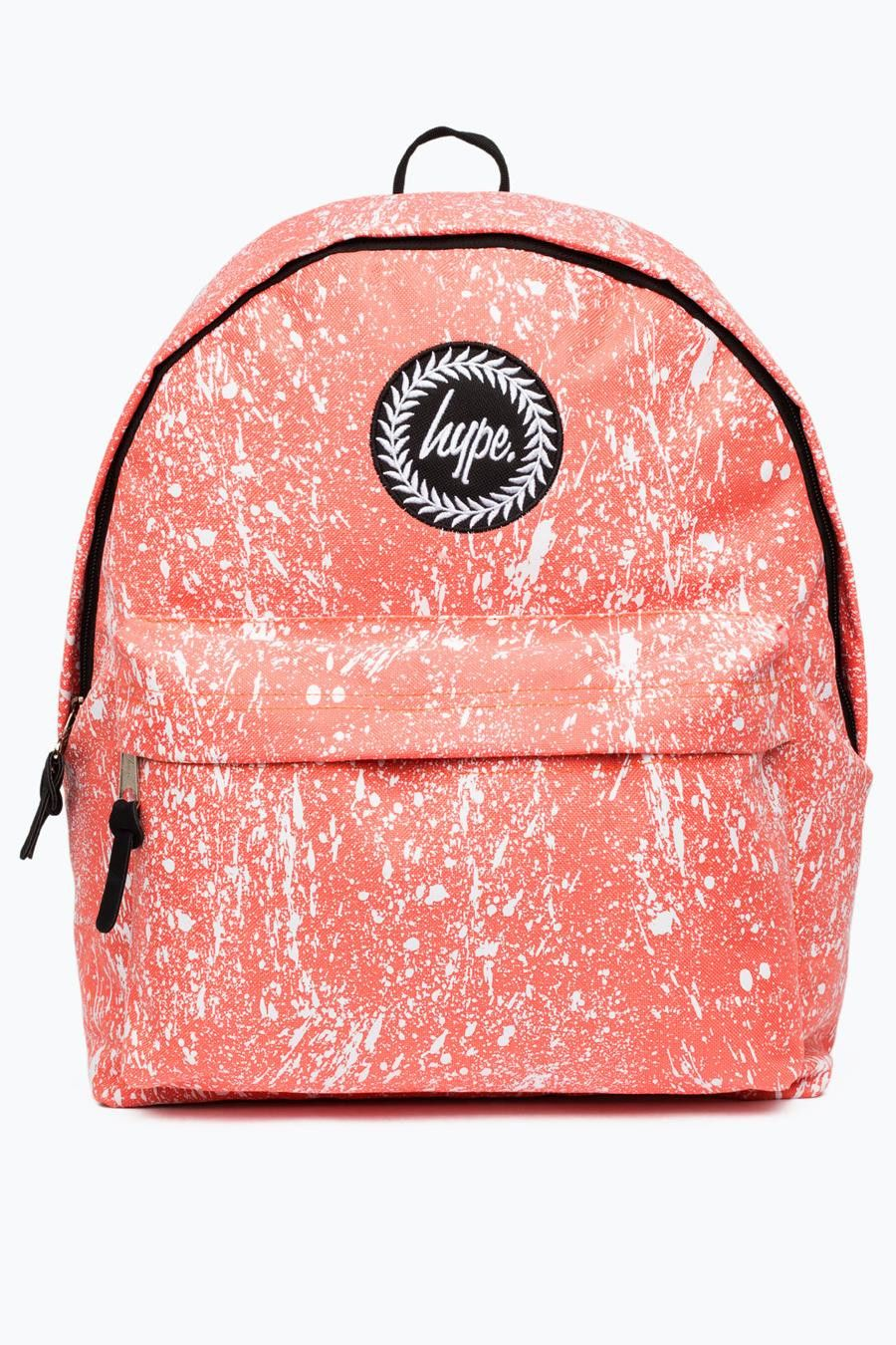 4fdbee96c Hype peach splat backpack in 2019 | Style | Backpacks, Hype bags ...